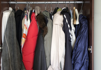 Wardrobe Full Of Clothes