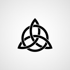 Celtic trinity knot. Vector