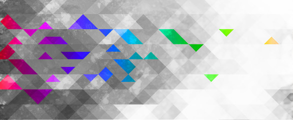 Fototapeta abstrakcyjne tło geometryczne kolorowe  obraz