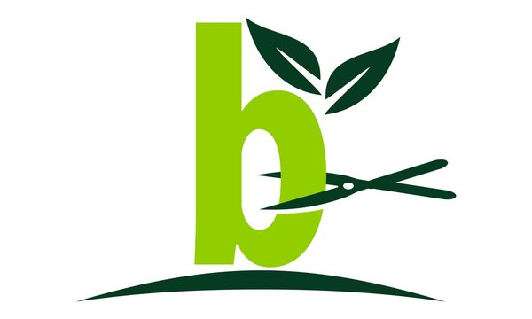 Letter B Lawn Logo