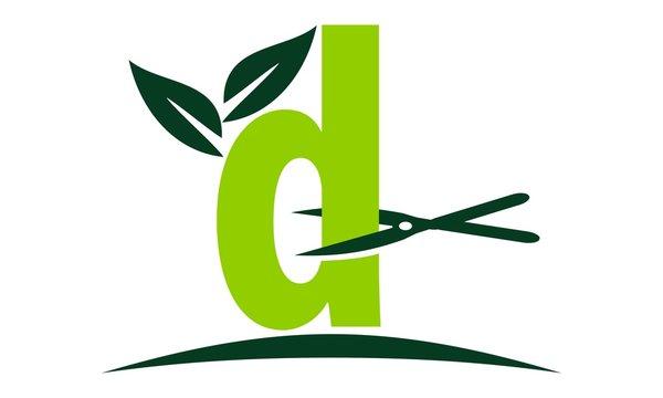 Letter D Lawn Logo