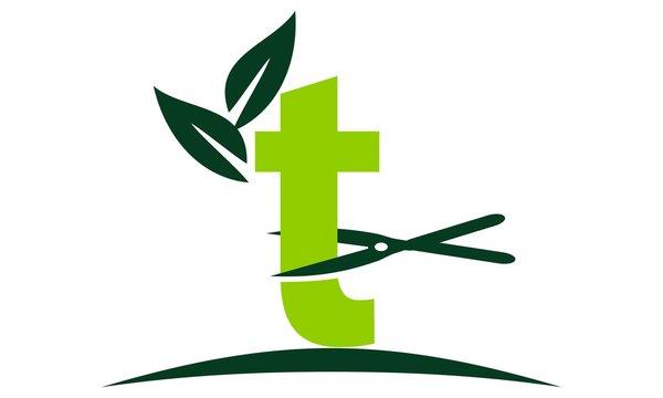 Letter T Lawn Logo