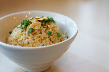 Thai garlic fried rice