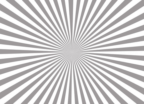 Grey and white star burst background