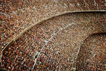 Stadium. Vintage style