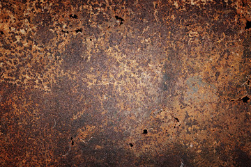 texture old rusty metal