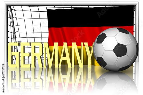 Calcio europa germania 002 bandiera pallone da calcio e - Bandiera della pagina di colorazione della germania ...