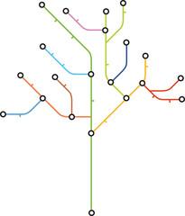 Fahrplan Baum