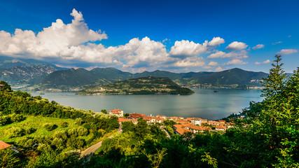 Iseo Lake Sebino Lombardy Italy - Monte Isola