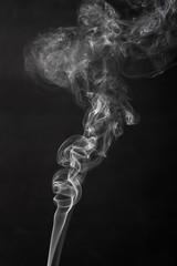 abstracat white smoke