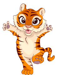 Tiger Stand Wave