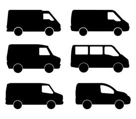 vans on white background