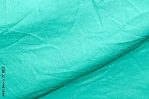 Sfondo Verde Acqua Tessuto Stropicciato Immagini E Fotografie