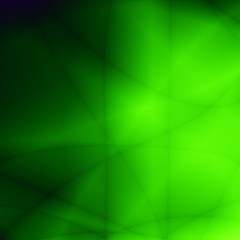 Nature leaf abstract green neon design