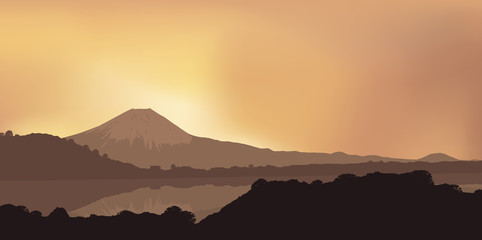 Paysage - Mont Fujiyama