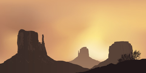Paysage - Monument Valley