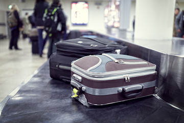 Papiers peints Aeroport Baggage claim at airport