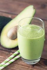 Avocado Smoothie, Made with Fresh Avocados and Non Dairy Milk.