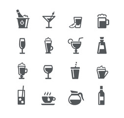 Drinks Icons - Utility Series