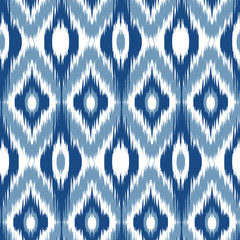 Ikat Ogee Background 9