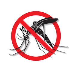 Anti mosquito vector,sign