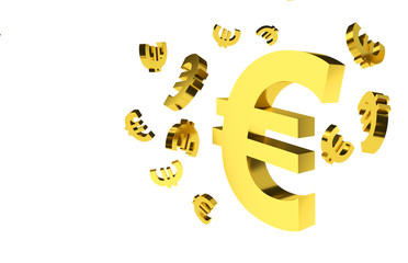 Euro Signs Background