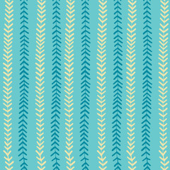 Aqua blue stripes seamless pattern