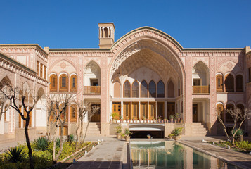 Khan-e Ameriha historic house in Kashan, Iran
