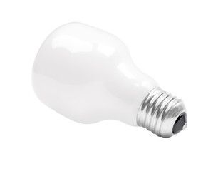 Matte  electric incandescent lamp