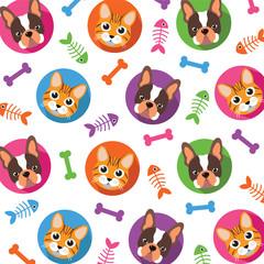 Cat & Dog pattern