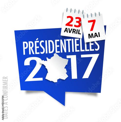 Elections pr sidentielles fran aises 2017 dates fichier vectoriel libre de droits sur la - Dates elections presidentielles france ...
