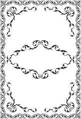 Ornate victorian retro nice frame