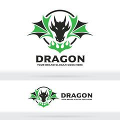 Dragon Logo, Dragon Sign, Dragon Identity