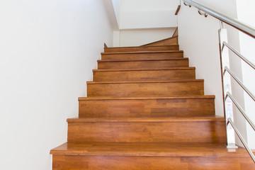 Foto op Plexiglas Trappen stair wood