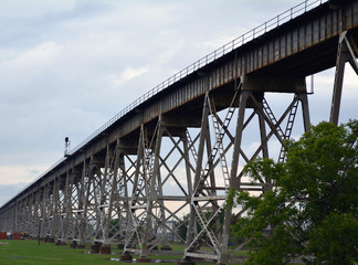 Train Trestle/Elevated Train Trestle