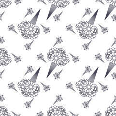 Floral pattern. Vector