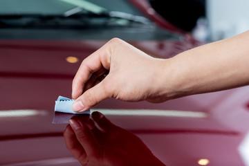 Car polishing series : Glass coating