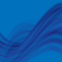 Abstract blue background, light lines