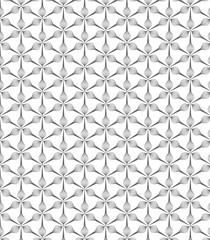 Geometric linear pattern, stylish monochrome