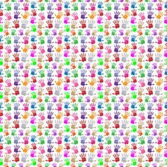 Handsprint Pattern