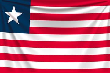 back flag liberia