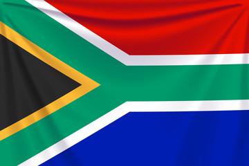 back flag south africa