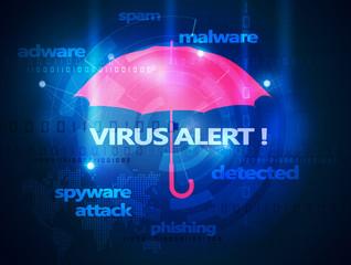 computer antivirus umbrella