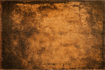 background old brown leather texture closeup