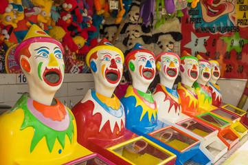 The Laughing Clown game is  a fun ball game for children