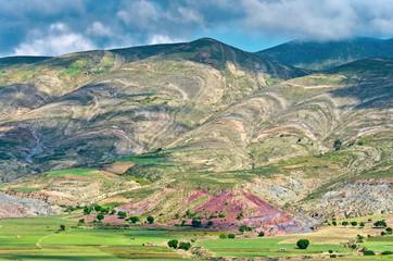 Crater of volcano Maragua, Bolivia