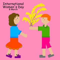 8 March: The International Women's Day