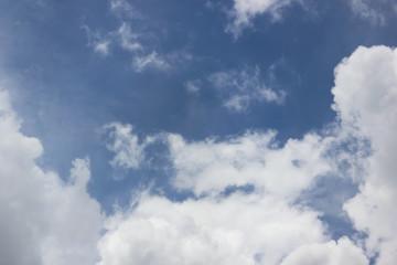 Keuken foto achterwand Hemel Beautiful blue sky and white clouds.