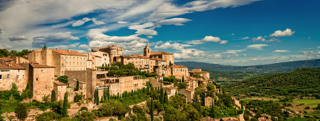 Gordes in autumn