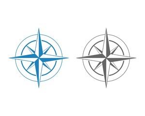 Blue Compass Rose 1